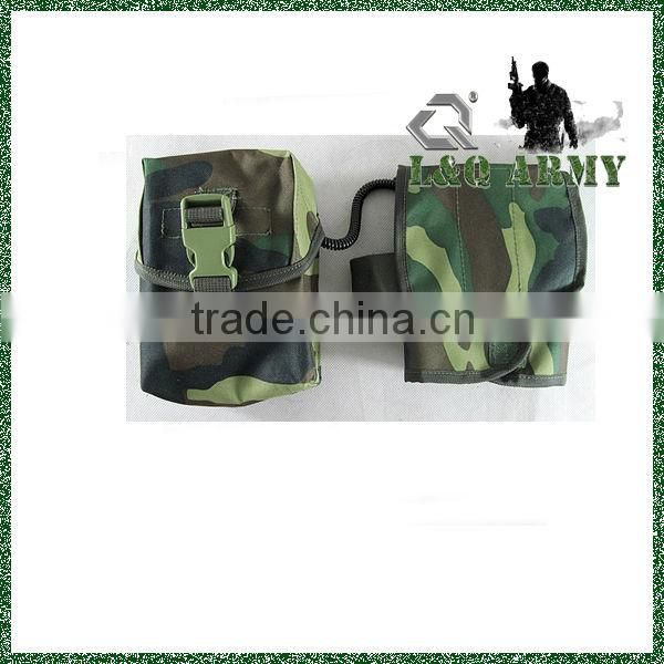 Medical Molle Improved First Aid Kit Pouch Woodland Camo
