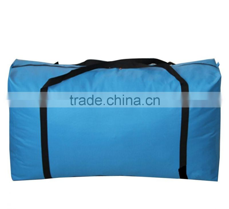 Heavy duty strong capacity 600D polyester laundry bag