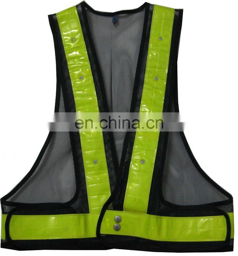 High Quality Reflective frensh terry Safety Vest
