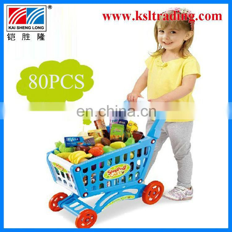 Happy shopping cart children kid toy