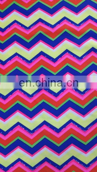 4 Way Spandex Warp Knit Print Fabric, Lycra Print Fabric, Swiming Print Fabric