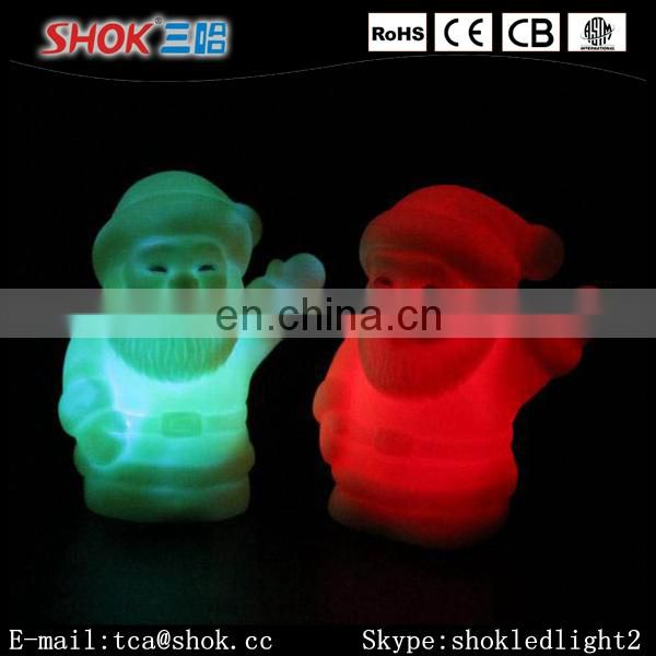 2016 the Classic Christmas Father Shape LED Moomlight For Christmas Day