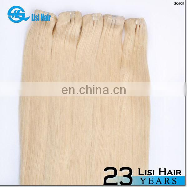 Hot Selling Golden Supplier Good Feedback No Shedding No Tangle 100% Human Hair cashmere clip hair extensions 7 piece sets