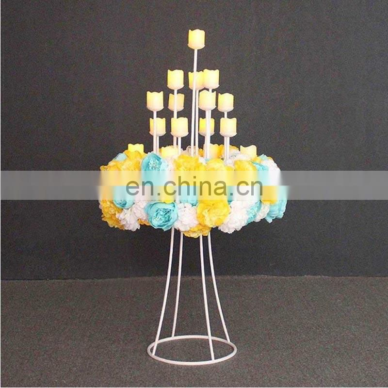 16 Arms Wedding Metal Candle Holder Classic Candelabra