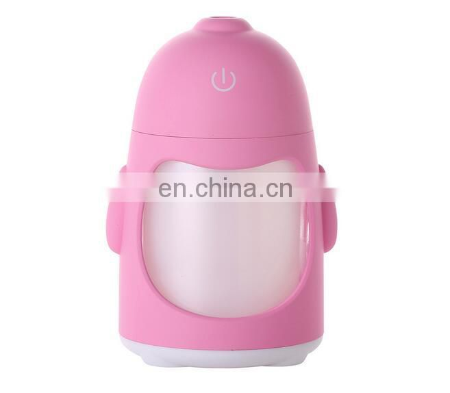 promotional penguin humidifier with LED lights