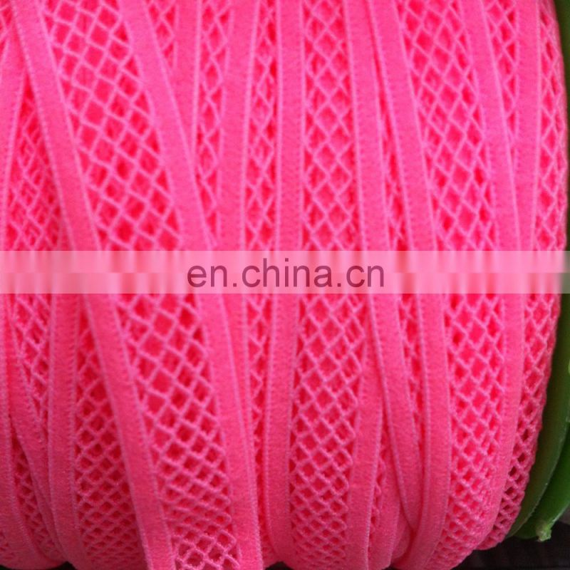 factory supply New design customized mesh knitting elastic band
