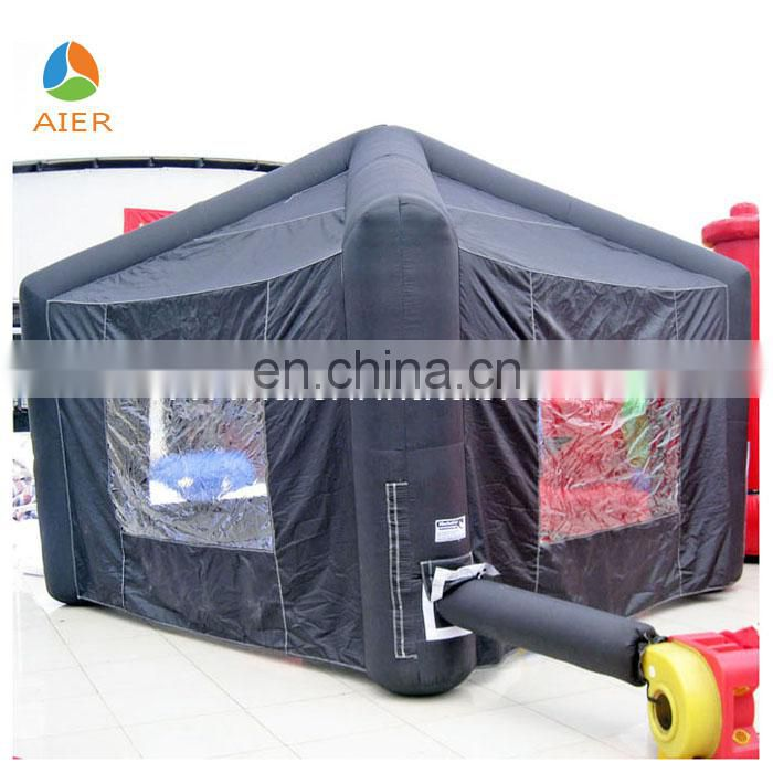 Comfortable inflatable tent camping with safety