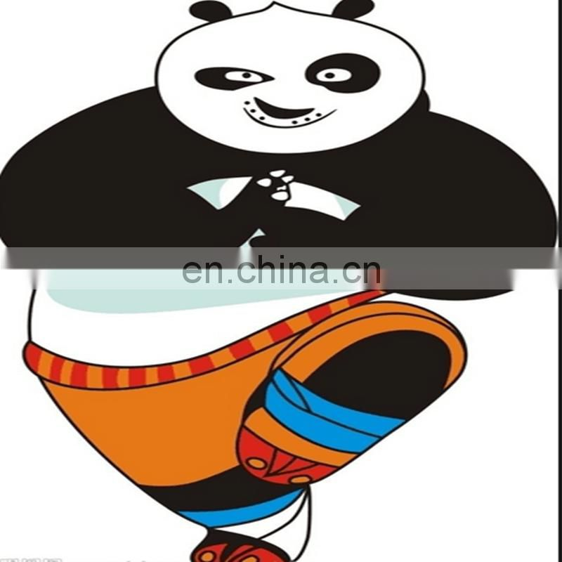 Kungfu panda plush toy . Giant kungfu Panda doll posed in a realistic stance. custom design logo stuffed plush toys