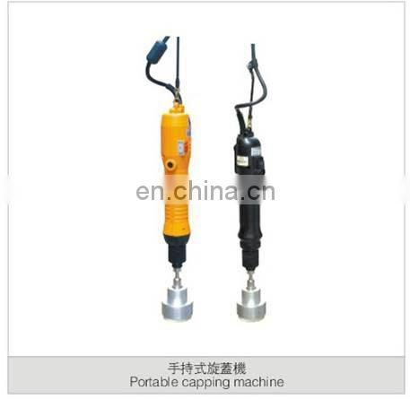 manual beverage bottles capper machine