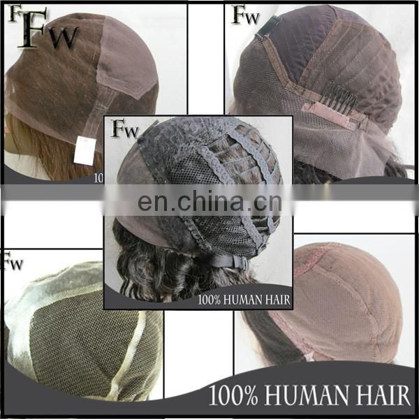 cheap 100% human hair wig kinky straight u part wig highlight 99J with baby hair