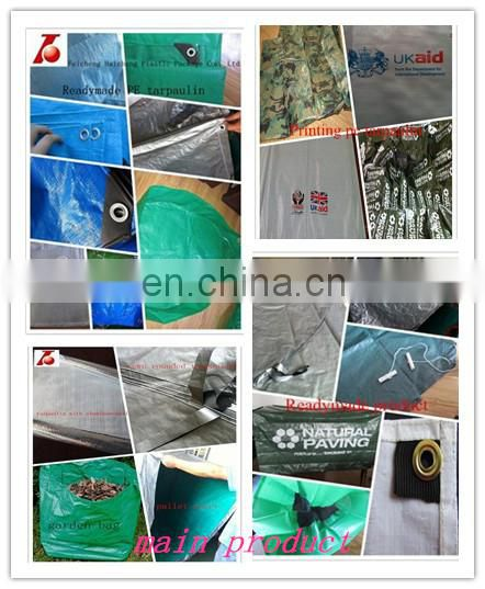 130grams UV stabilized olive green plastic tarpaulin for boat cover in winter