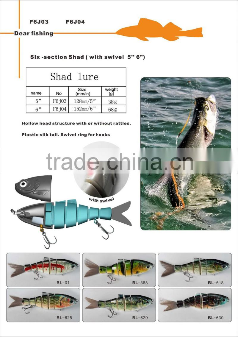wholesale fishing lure making supplies fishing bass shad trout swimbaits for sale