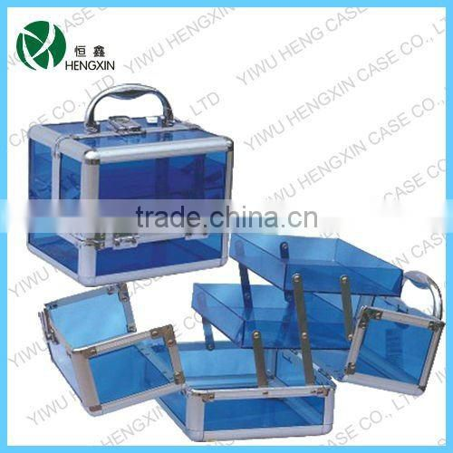 makeup train case,Transparent acrylic package special wholesale make-up finishing makeup tools Shelves Gift Bag Storage box