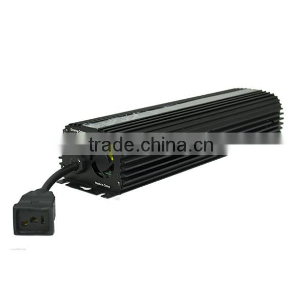 Hydroponic High Quality Light ballast 600W Dimmable With Cooling Fan HID Ballast