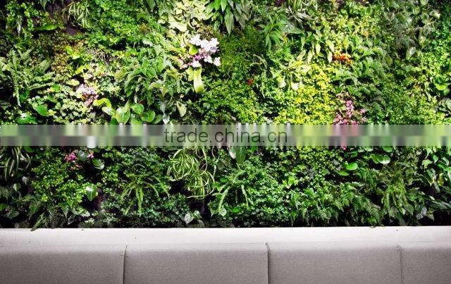 Natural looking hot sale artificial plant wall design aetificial grass wall for decoration