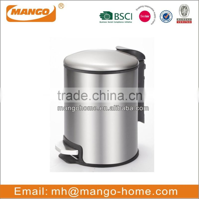 Hot Sales Stainless Steel Pedal Waste Bin