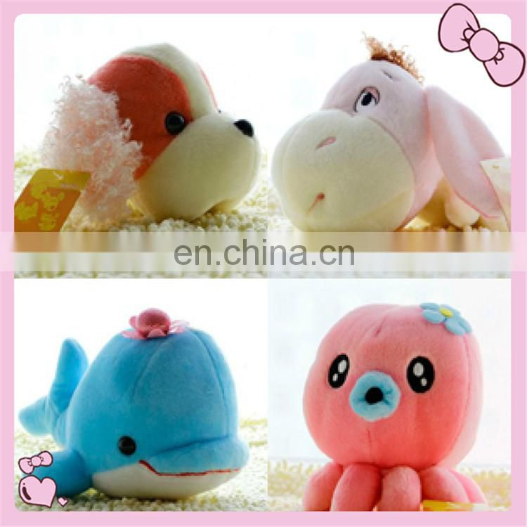 lovely plush sea animal toy