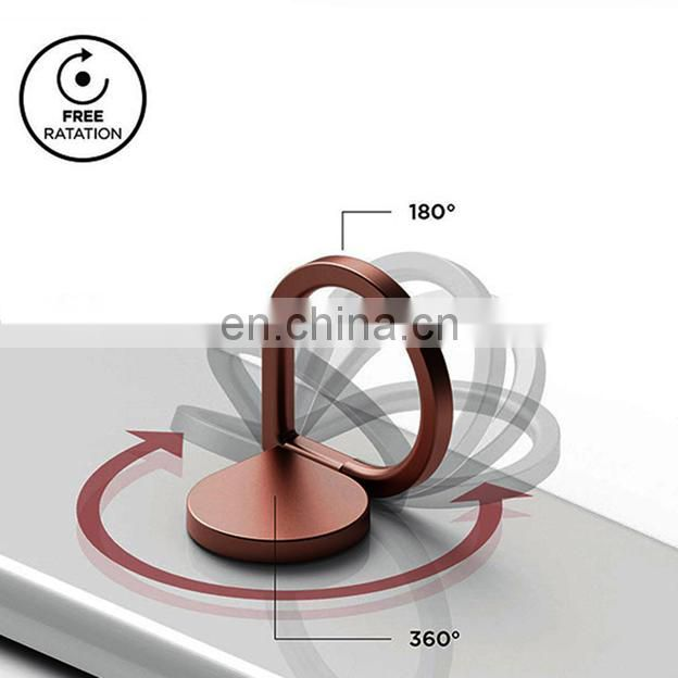 2017 Water Drop Universal 360 Degree phone stand ring,aluminum mobile phone display stand