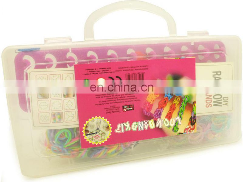 DIY bracelets/DIY loom bands/rainbow loom bracelet kit/fashion jewellery kit/rainbow loom bracelet kit