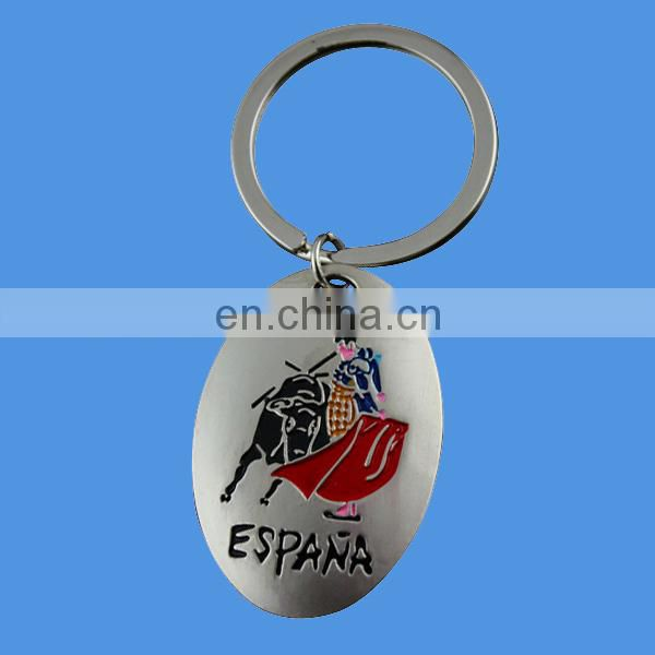 custom metal spain souvenirs with bull