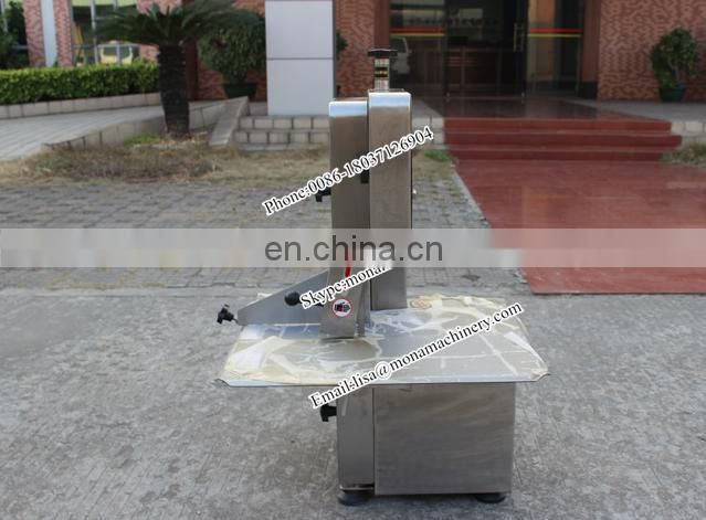 Electric knife for bone cutting / band saw frozen fish cutting machine