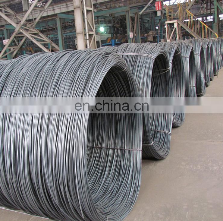 Low Carbon MS steel wire rod price SAE1008