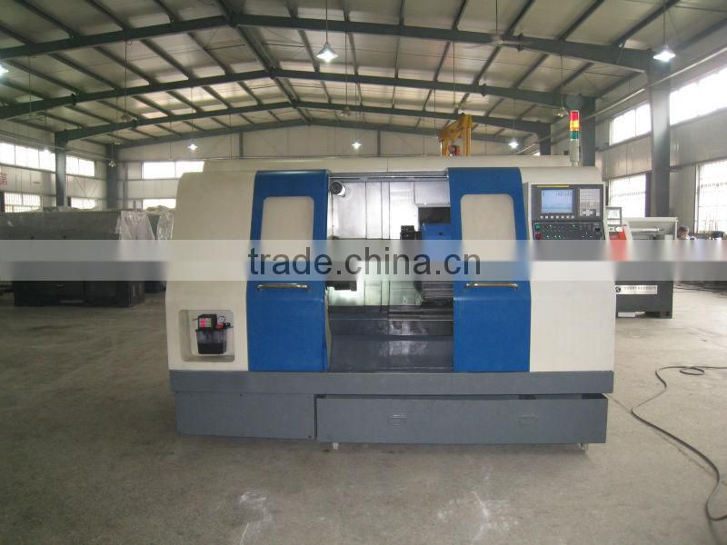 CNC450B-1 fanuc cnc lathe / slant bed new cnc lathe machine metal cutting lathe for sale