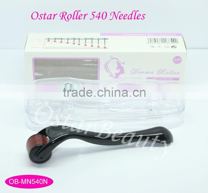 CE approval stretch mark removal 540 titanium derma stamp micro needle derma roller with CE certification MN 540N