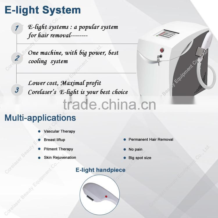 home facial equipment shr and ipl thechonlogy ipl device hair removal