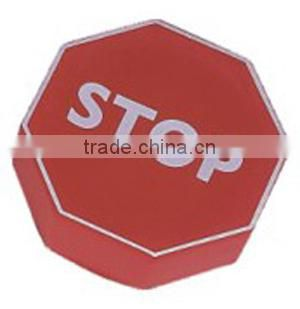 PU stress stop sign/stop sign shaped stress reliever/anti stress toy