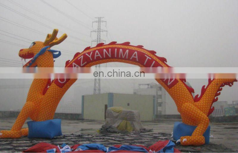 best promotion Inflatable Arch with bottle shape