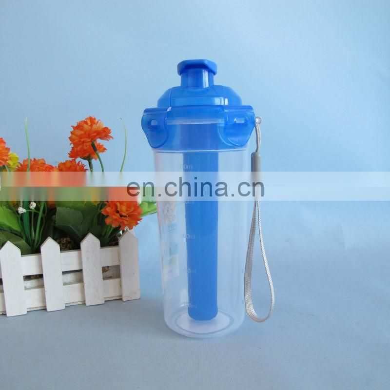 2014 new product BPA free 500ml plastic bottle