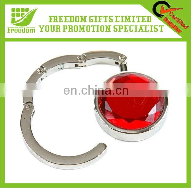 Promotional Customized Logo Branded Purse Hanger