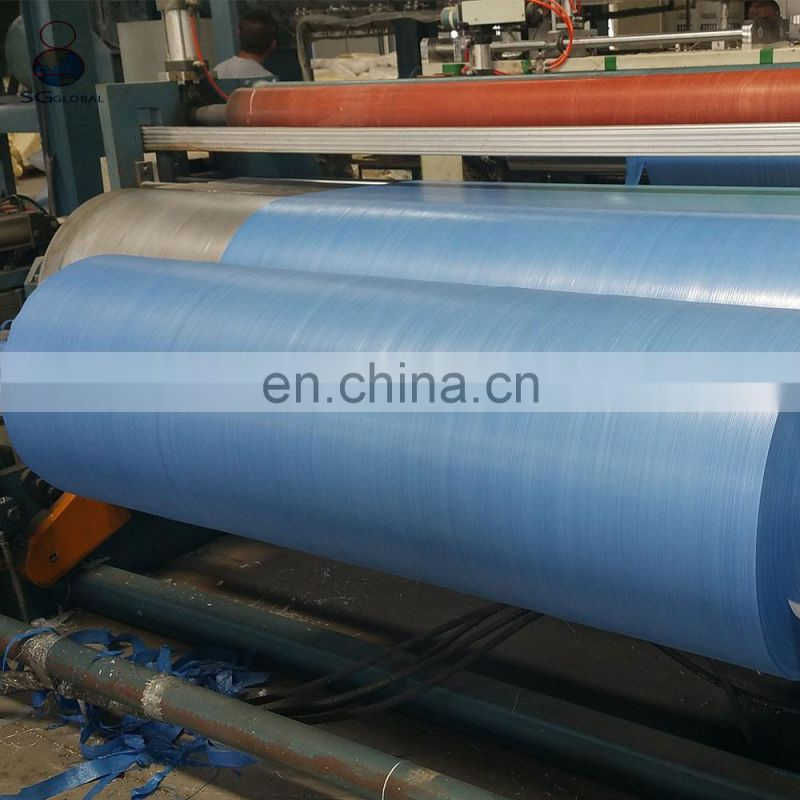 China transparent polypropylene woven tubular fabric