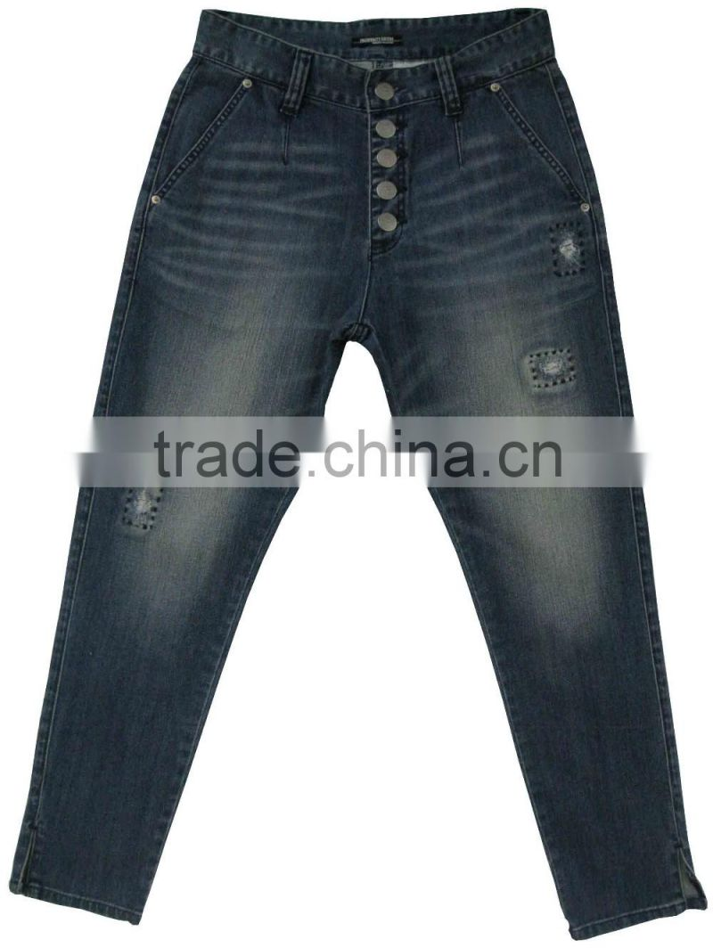 Adults fashion women jeans Product Women Gender Fashion wash Womens Jeans manufacturer