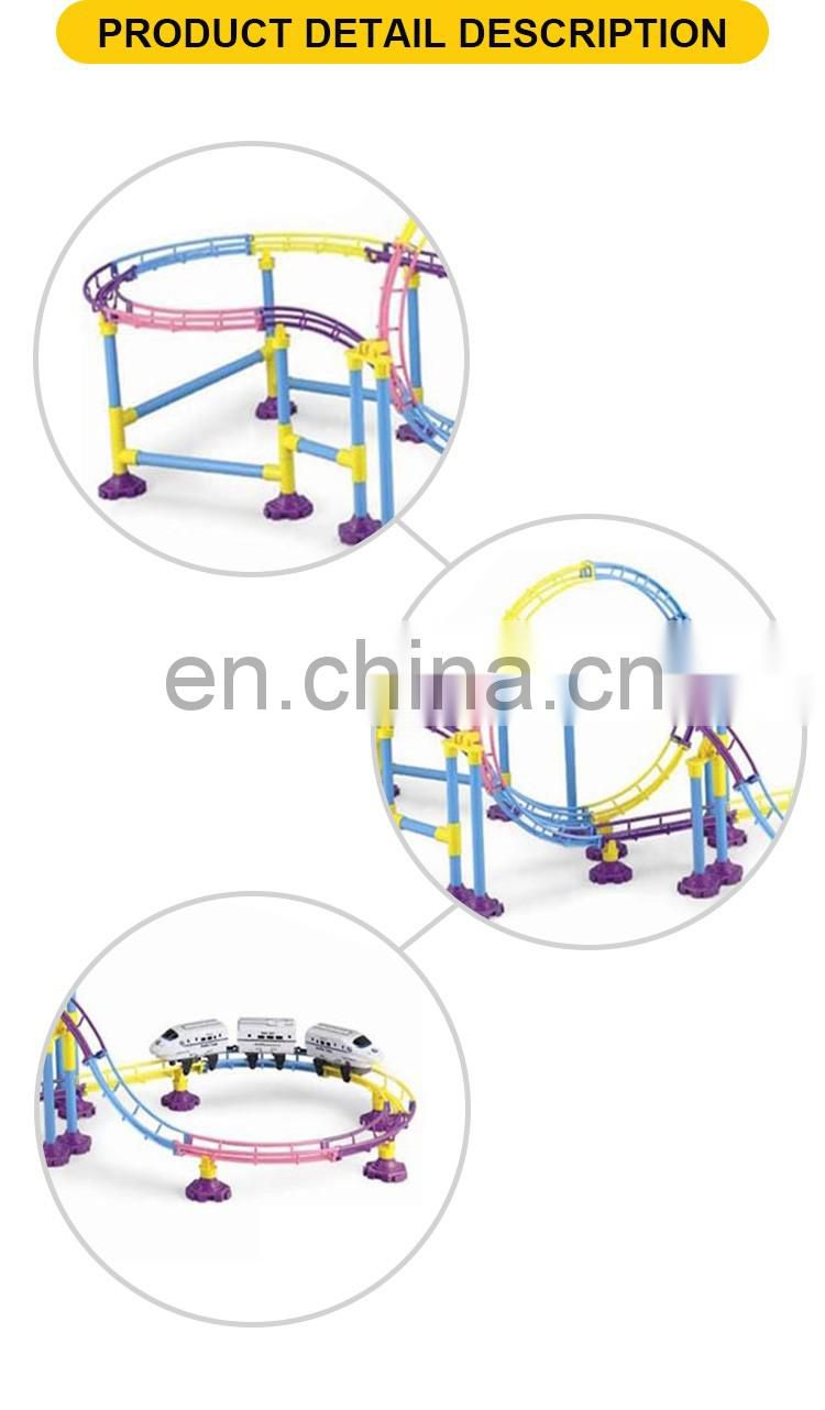 Hot Selling Plastic Electric Railway Train Games