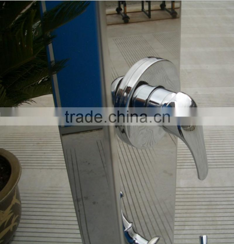 Audemar Stainless Steel 316 Straight Outdoor Shower For Swimming Pool And Garden