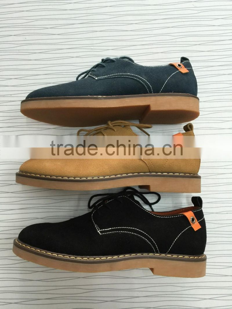 001 fashion men shoes casual sport shoes genuine leather Hit of pop British style footwear