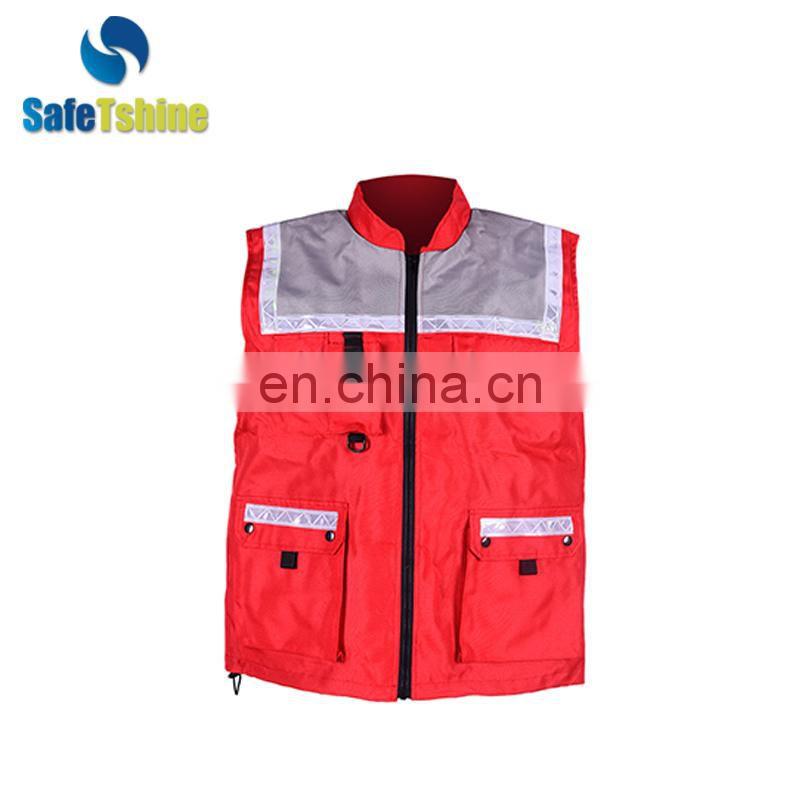 Factory sale various widely used cheap reflective public safety vests
