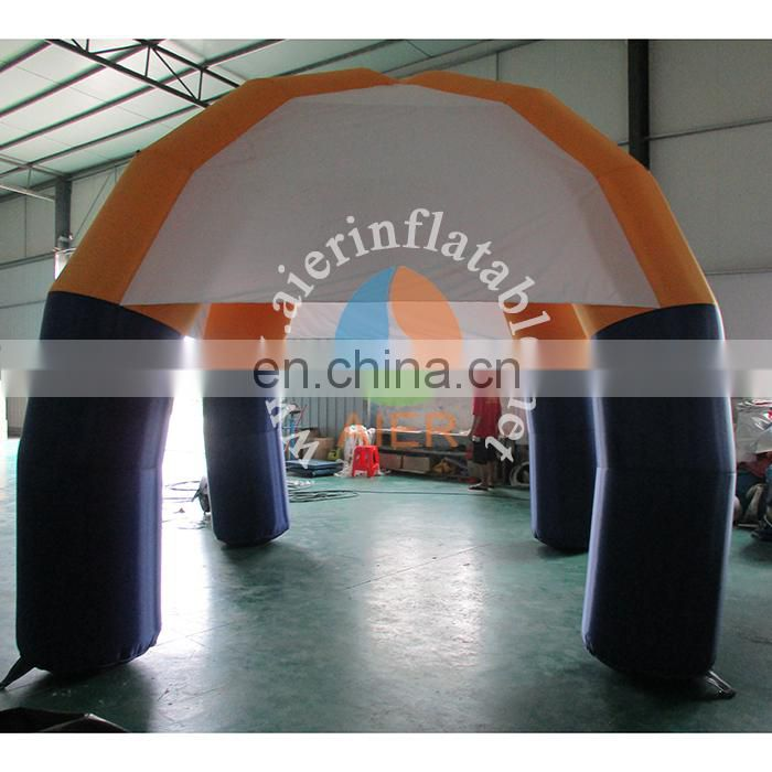 cheap price inflatable Oxford cloth tent with good quality,inflatable tent for sale
