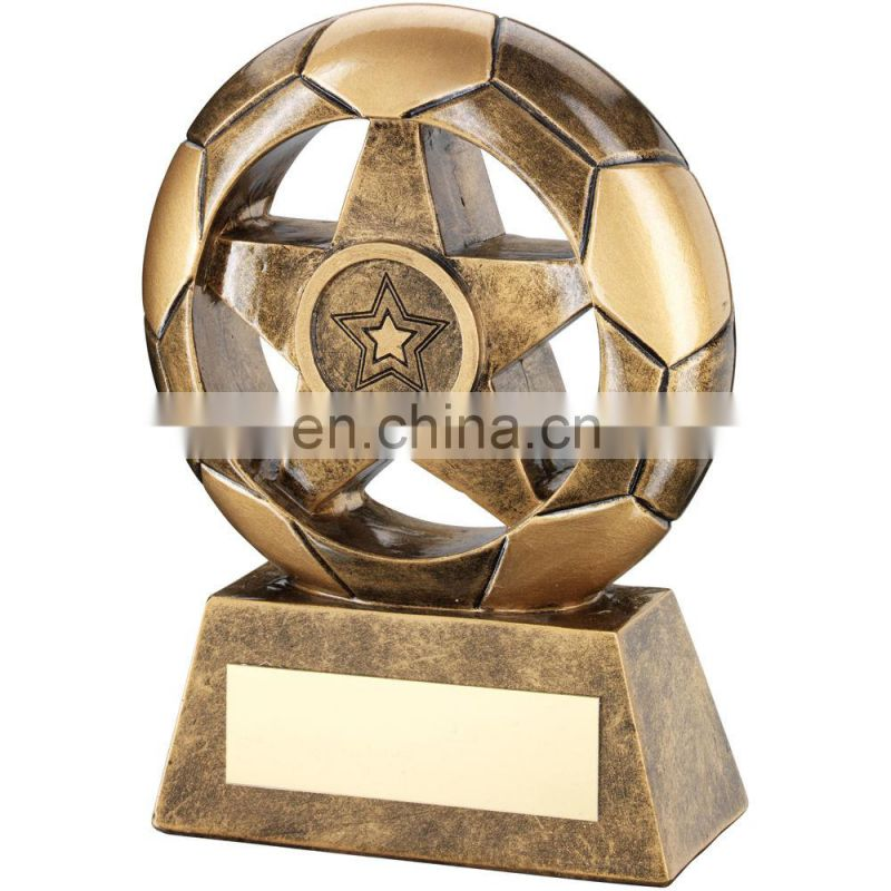 customized hot sale resin fantasy football trophy