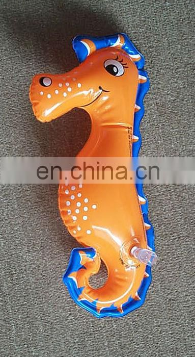 promotional inflatable sea horse toy