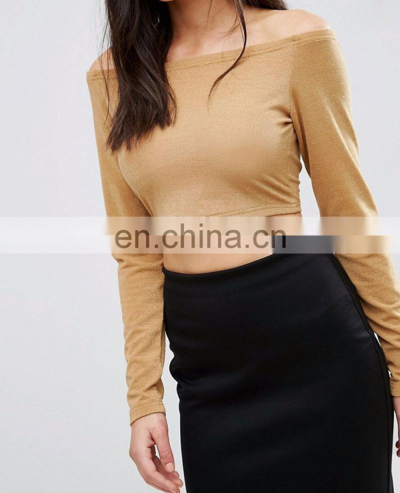 b7f195391cd19 Sexy Women Deep V-neck Long Sleeves Tie Front Crop Top of Women from China  Suppliers - 158039276