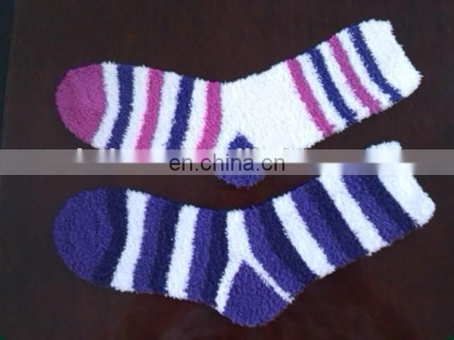 example fluffy sock