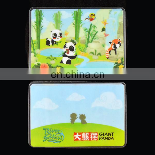 Transparent plastic student id card holder wholesale