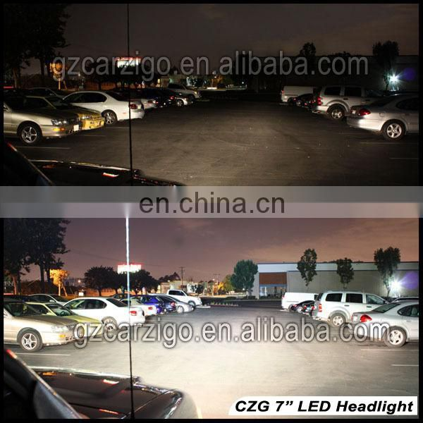 made in Guangdong china good price nice quality car accessory led 75w headlight