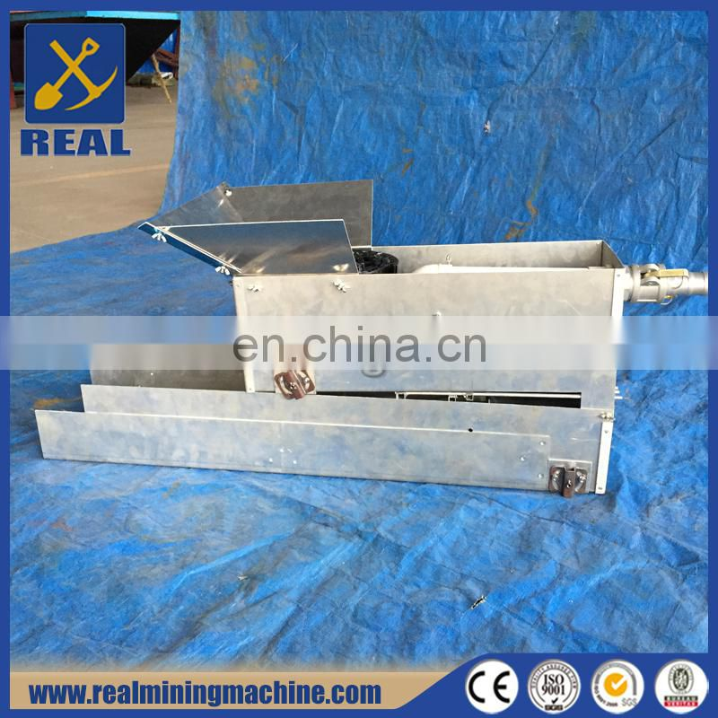 small portable gold sluice machine sluice box Image
