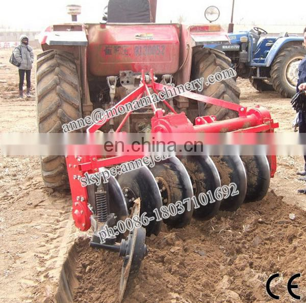 008618037101692 1LYQ-MN European standard PTO driven Good selling tractor rotary disc plough mini farm tractor plow