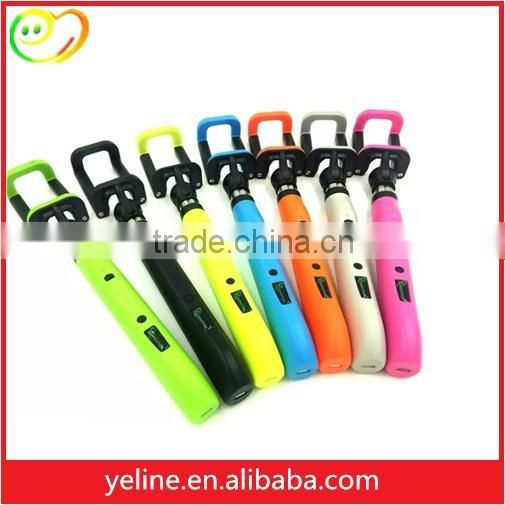 2016 new product colorful bluetooth selfie stick for ASUS 2 laser/T45/zenfone zoom