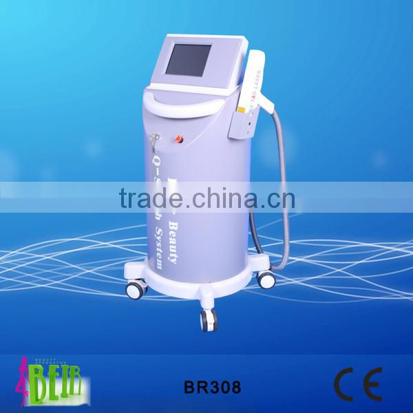 vascular removal 1064 nm 532nm q switch nd yag beauty machine